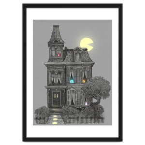 Haunted By The 80 S Art Print