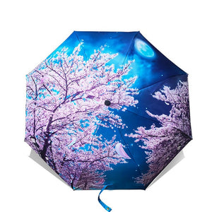 Art Painting Umbrella - beautiful selection of art images on folding umbrella