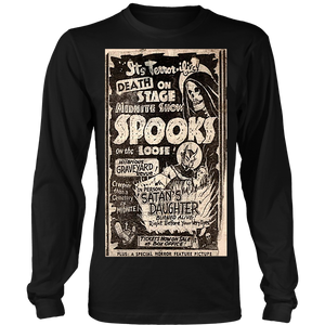 It's Terrorific! Oversize image Spook show Long Sleeve T
