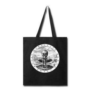Vive Memor Leti Fugit Hora tote bag - Live Mindful of Death, the Hour Flies - black
