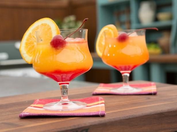 Tequila Sunrise - A Summertime Favourite
