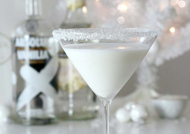 Winter Themed Cocktail
