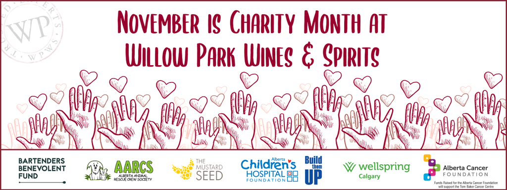 Willow Park Wines & Spirits Charity Month