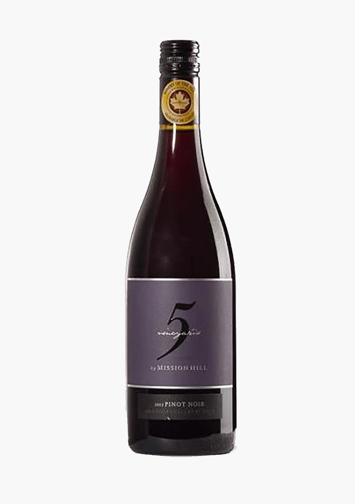 Mission Hill Five Vineyards Pinot Noir-Wine