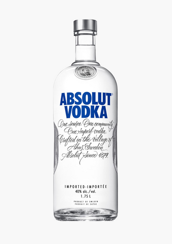 Absolut Vodka - 1750 ml-Spirits