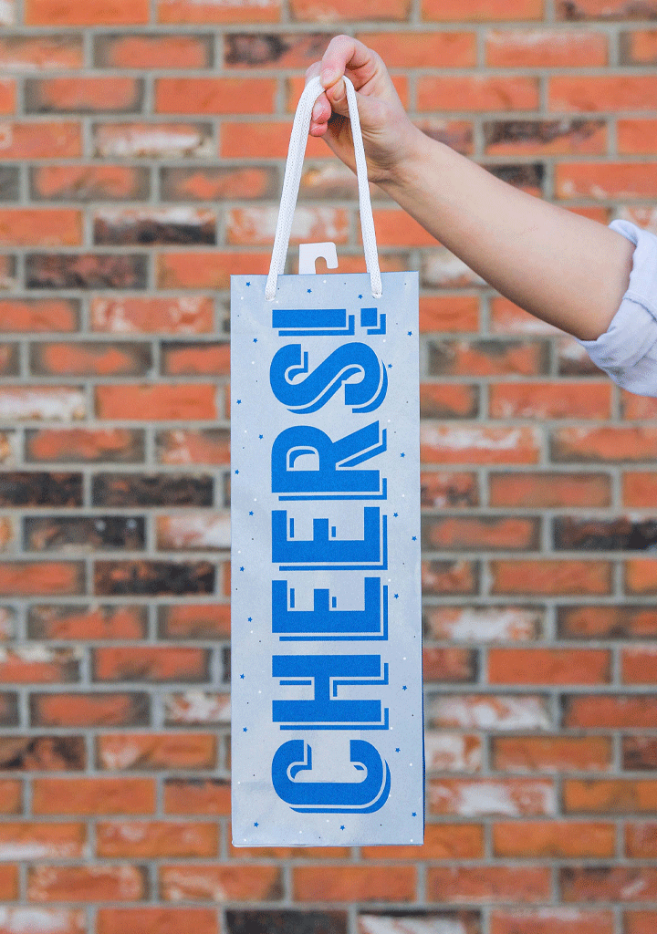 Cheers Gift Bag-Giftware