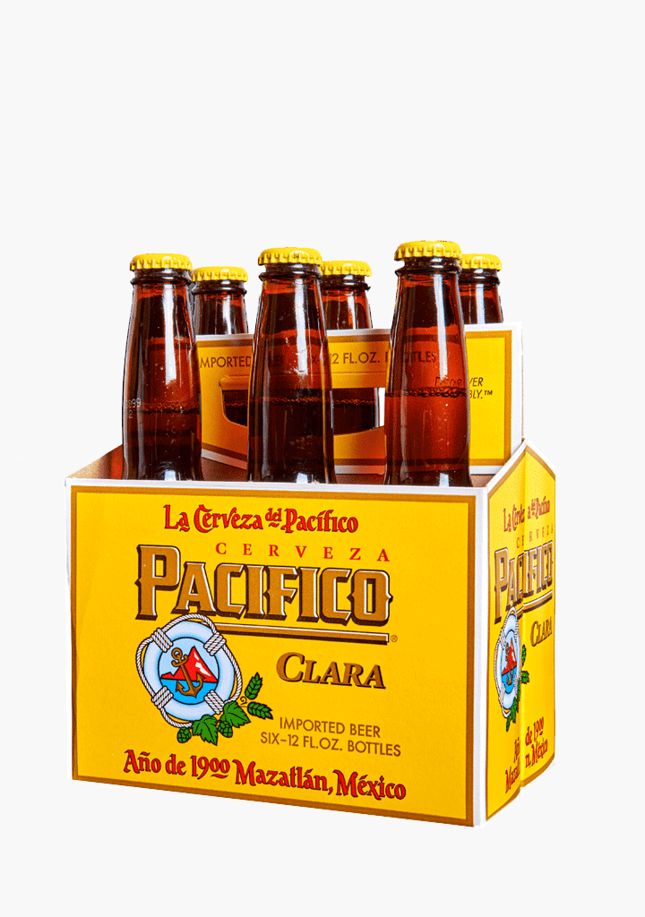 Pacifico Clara Mexican Pilsner - 6 x 355 ml-Beer