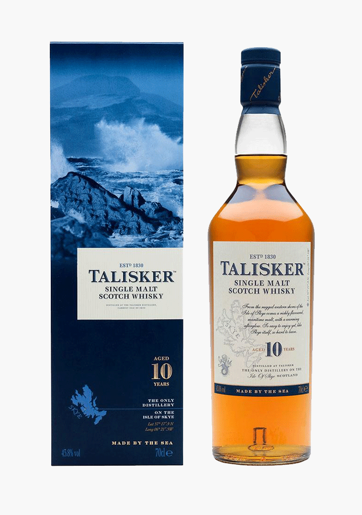Talisker 10 Year Old-Spirits
