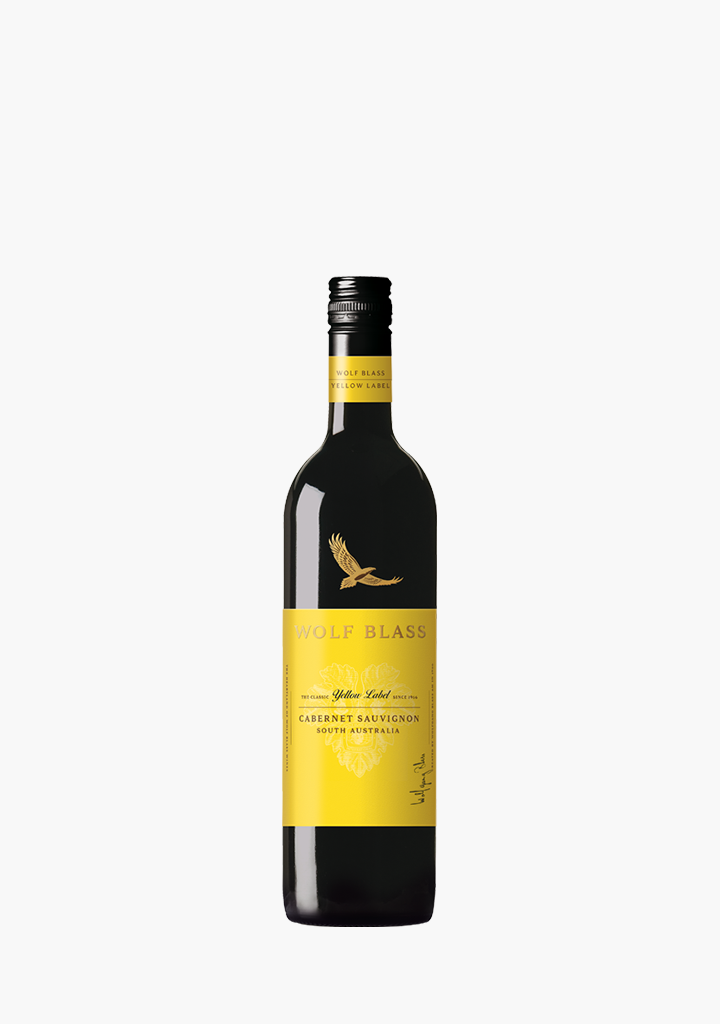 Wolf Blass Yellow Label Cabernet Sauvignon-Wine