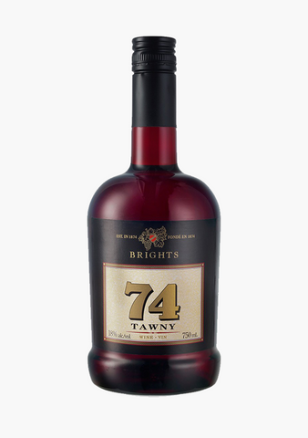 Brights 74 Tawny Port-Fortified