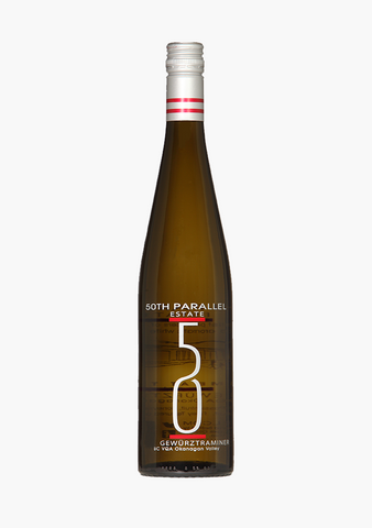 50th Parallel Estate Gewurztraminer-Wine