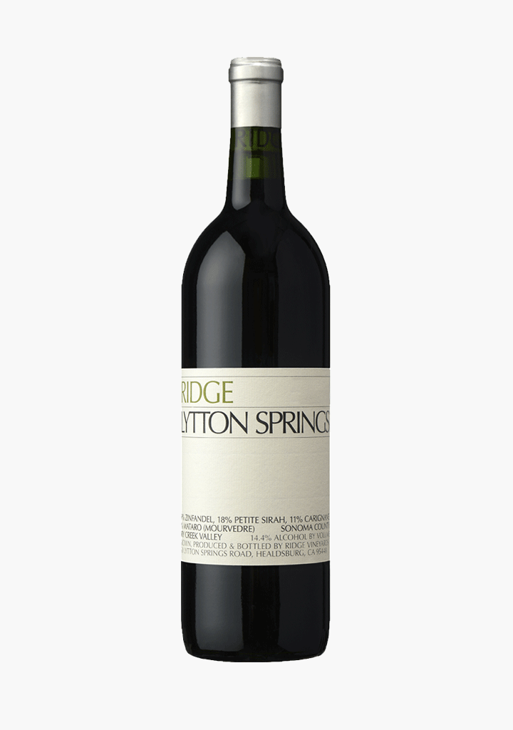 Ridge Lytton Springs, Red Blend-Wine