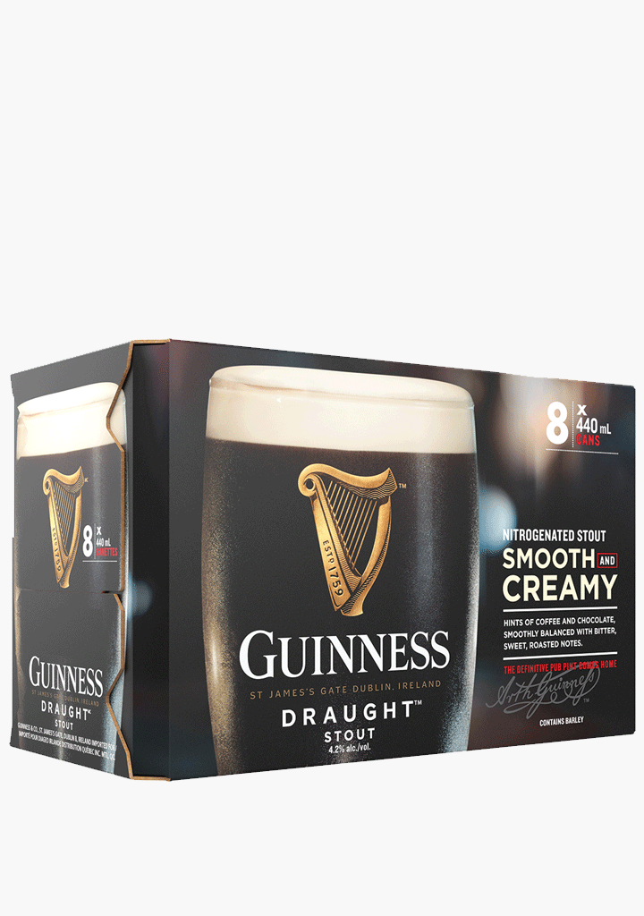 Guinness Pub Draught - 8 x 440 ml-Beer