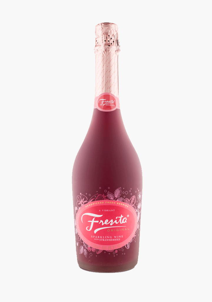 Fresita Sparkling Wine Infused with Strawberry-Sparkling