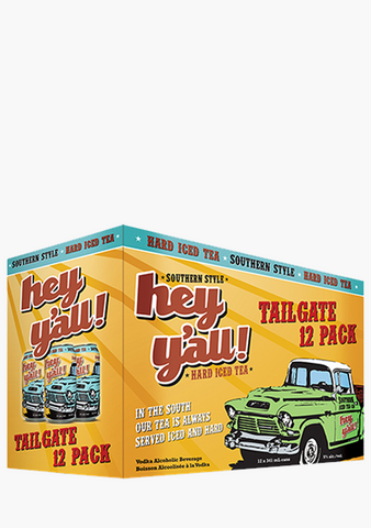 Hey Y'All Original Hard Iced Tea 12 x 341ML-Coolers