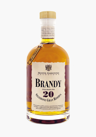 Monte Sabotino 20 Year Old Brandy