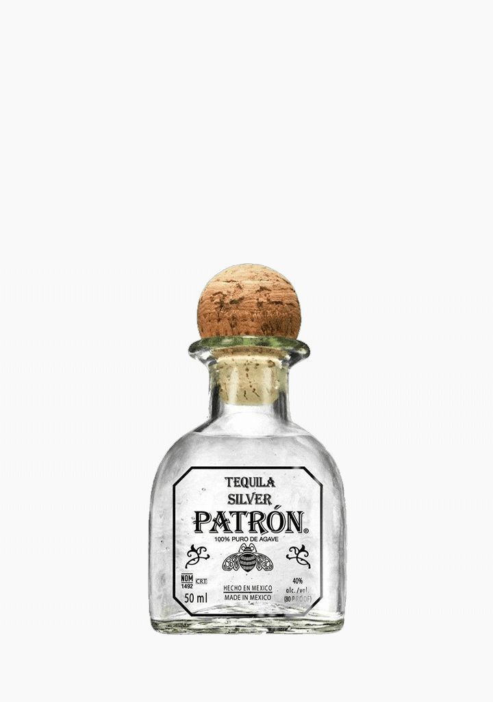 Patron Silver - Mini Bottle 50ml-Spirits