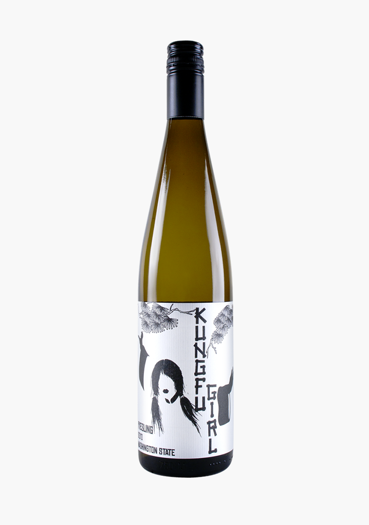 Charles Smith Kung Fu Girl Riesling 2018-Wine