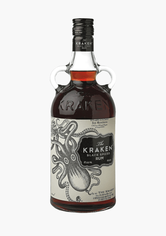 The Kraken Black Spiced Rum-Spirits
