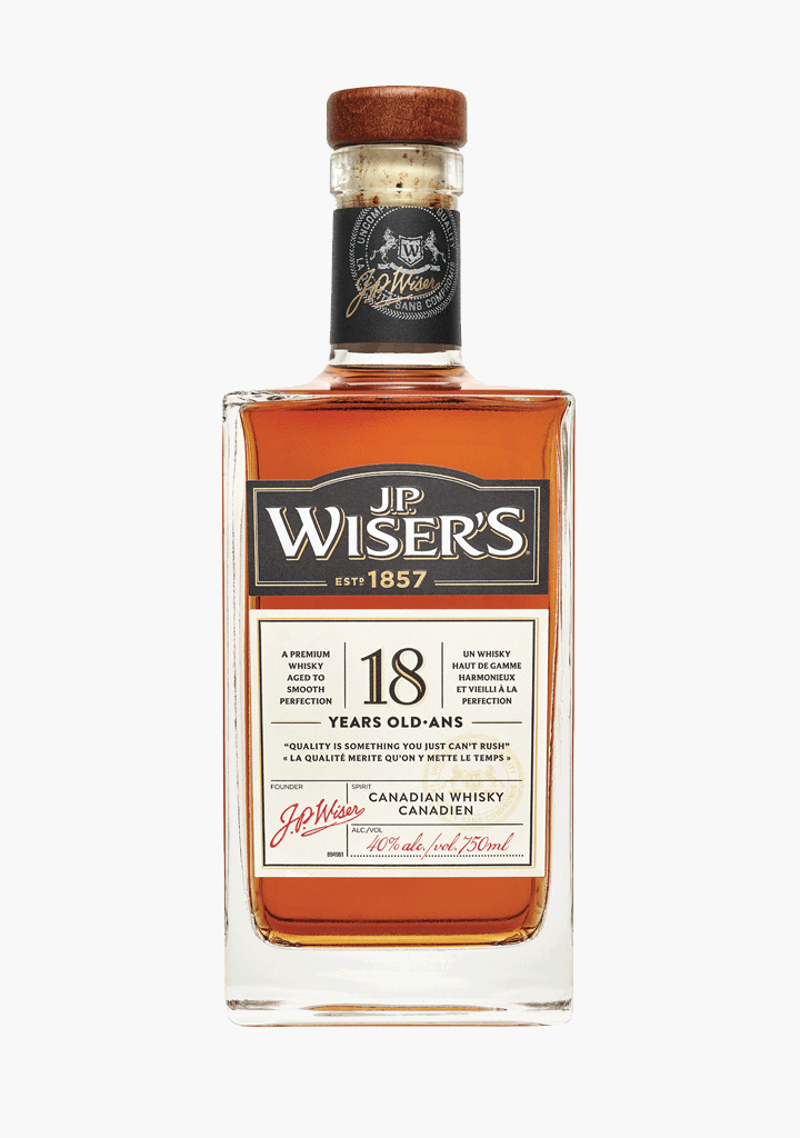 Wiser's Very Old 18 Year Old-Spirits