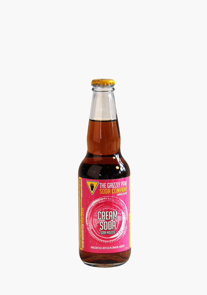 Grizzly Paw Cream Soda - 341ml