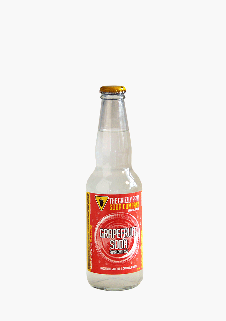Grizzly Paw Grapefruit Soda - 341ml