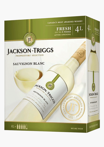 Jackson Triggs Proprietors Selection Sauvignon Blanc - 4000ML-Wine