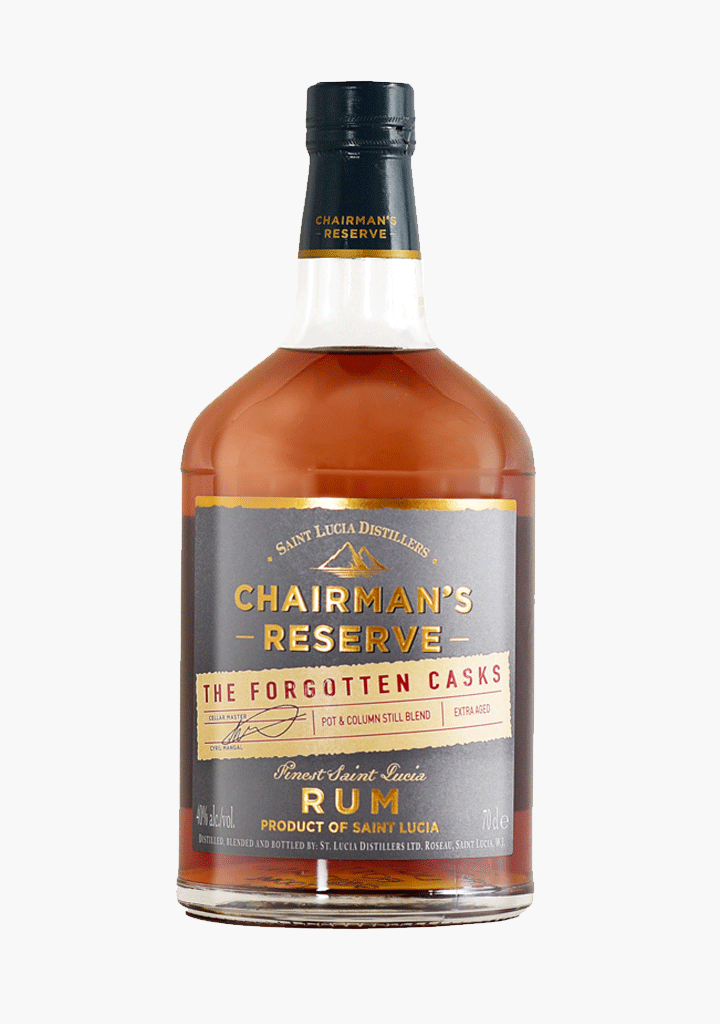 St Lucia Forgotten Casks Chairmans Reserve-Spirits