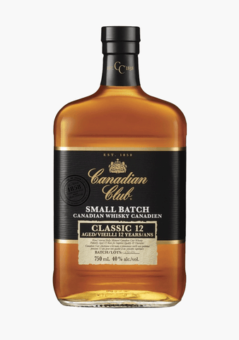 Canadian Club Small Batch 12 Year Old-Spirits