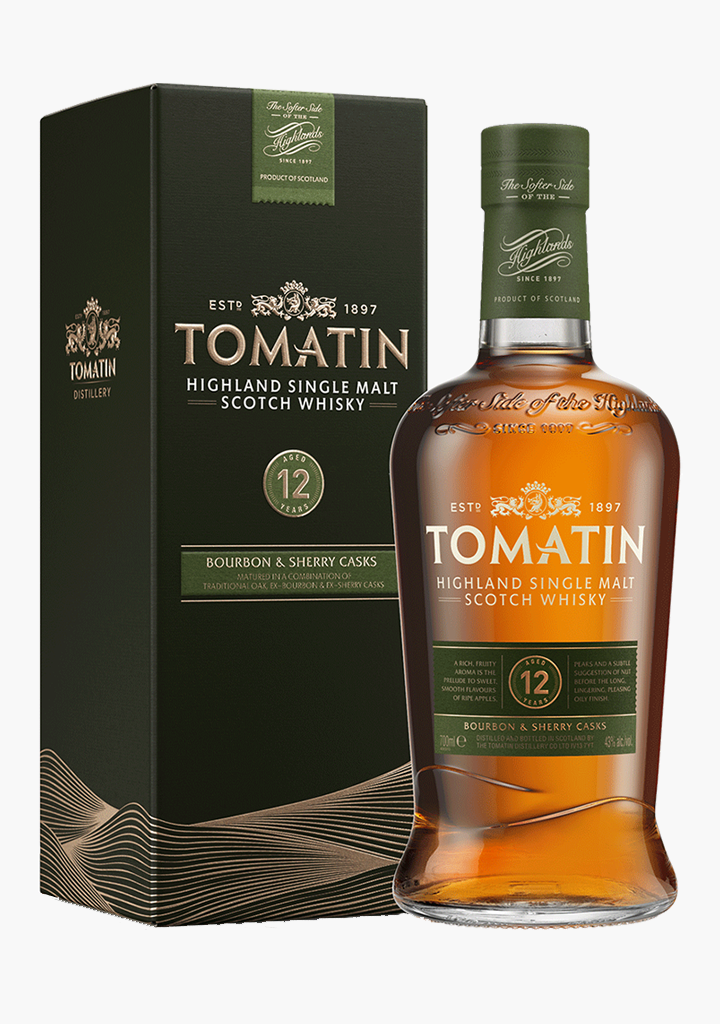 Tomatin Scotch Single Malt 12 Year Old