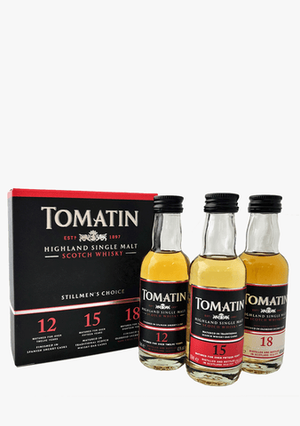 Tomatin Single Malt Stillmen's Choice Gift Pack- 3 x 50 ml