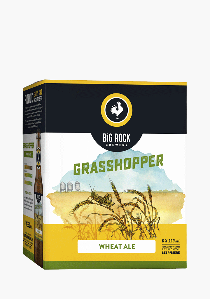 Big Rock Grasshopper - 6 x 330 ml-Beer