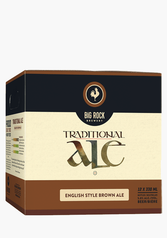 Big Rock Traditional Ale - 12 x 330 ml-Beer