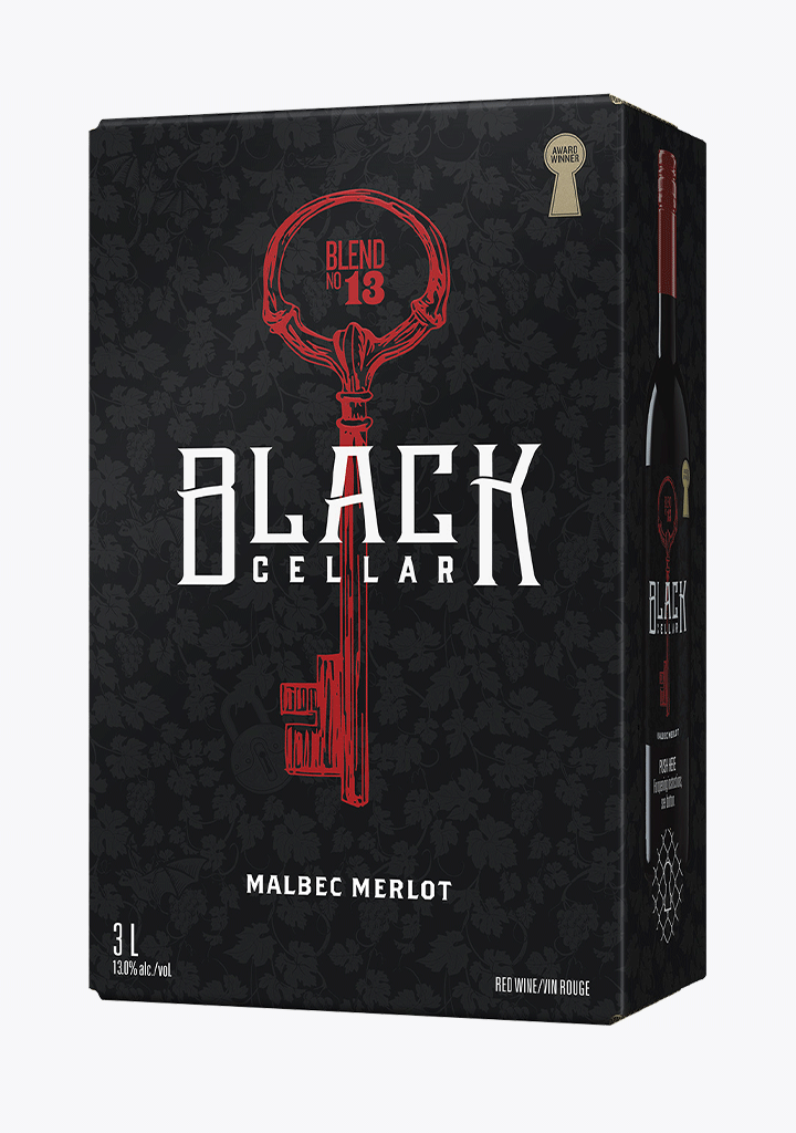 Black Cellar Malbec Merlot - 3000ML-Wine
