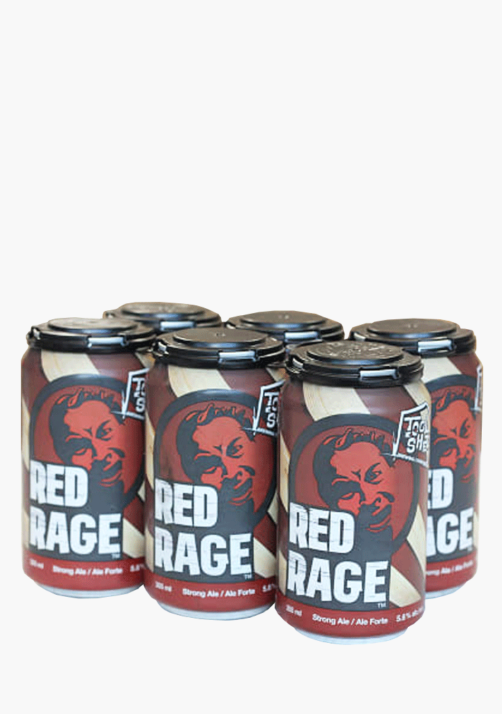 Tool Shed Red Rage - 6 x 355 ml-Beer