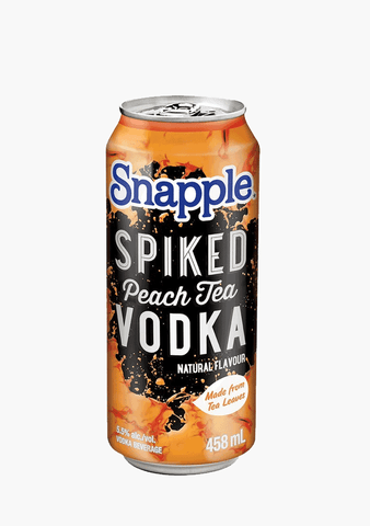 Snapple Spiked Peach Tea Vodka-Coolers