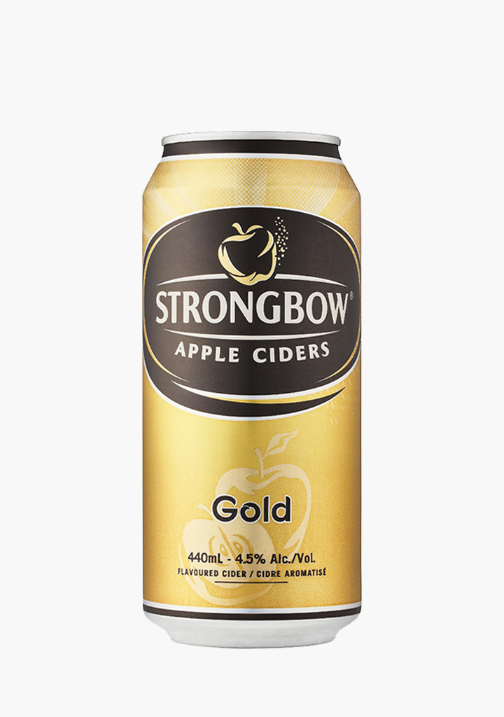 Strongbow Gold 4 x 440 ml-Cider