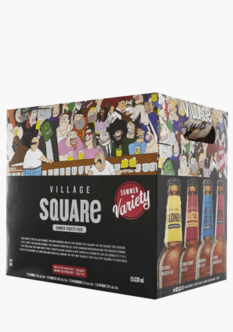 Village Square Summer Pack - 12 x 330 ml-Beer
