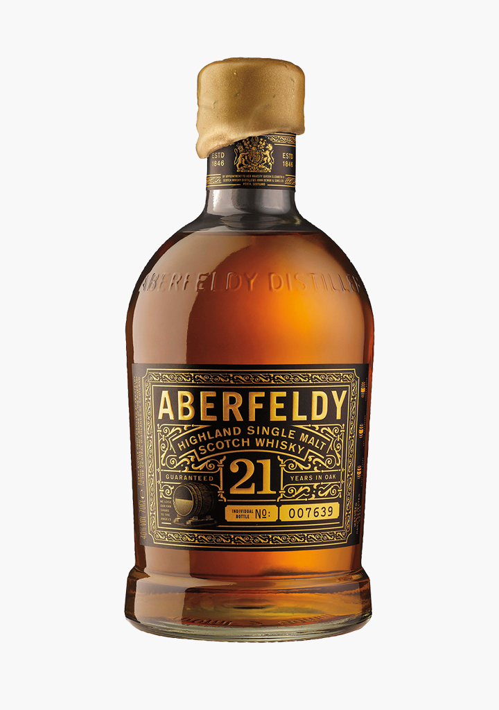 Aberfeldy 21 Year Old-Spirits