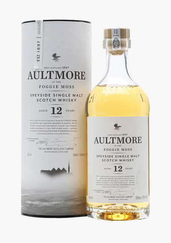 Aultmore 12 Year Old-Spirits