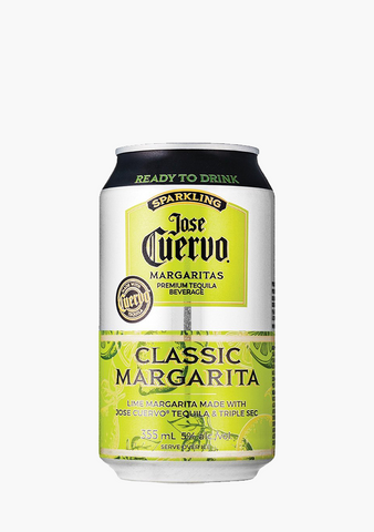 Jose Cuervo Lime Margarita Cooler 4 X 355ml-Coolers