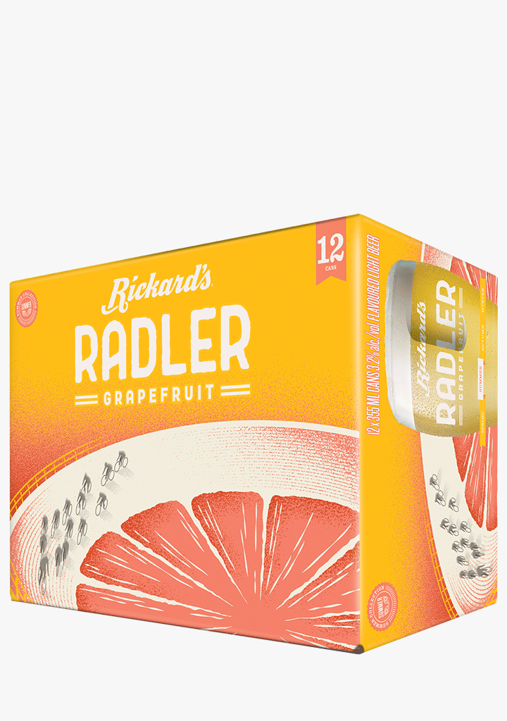 Rickard's Radler - 12x355ML-Beer-abc
