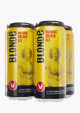 Village Blonde - 4 x 473ML