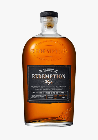 Redemption Rye Whiskey-Spirits