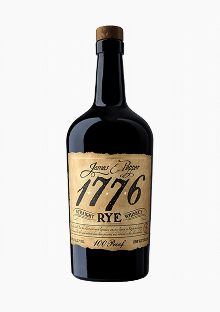 James E. Pepper 1776 Rye 100 Proof