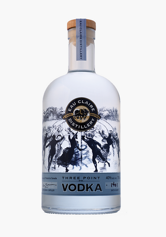 Eau Claire Three Point Vodka-Spirits