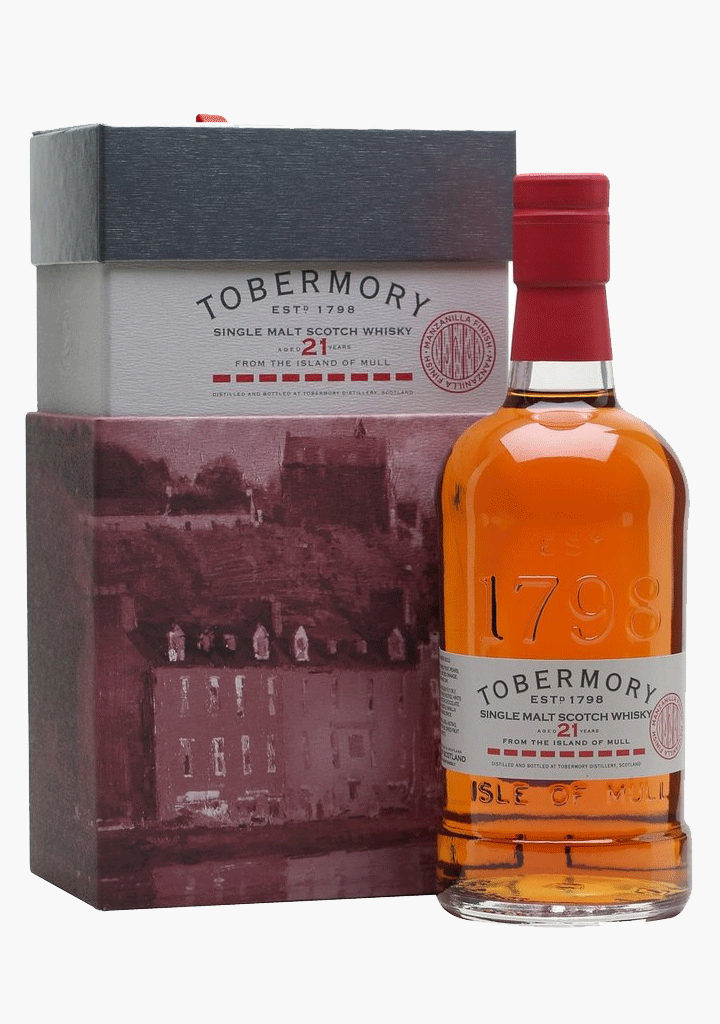 Tobermory 21 Year Old-Spirits