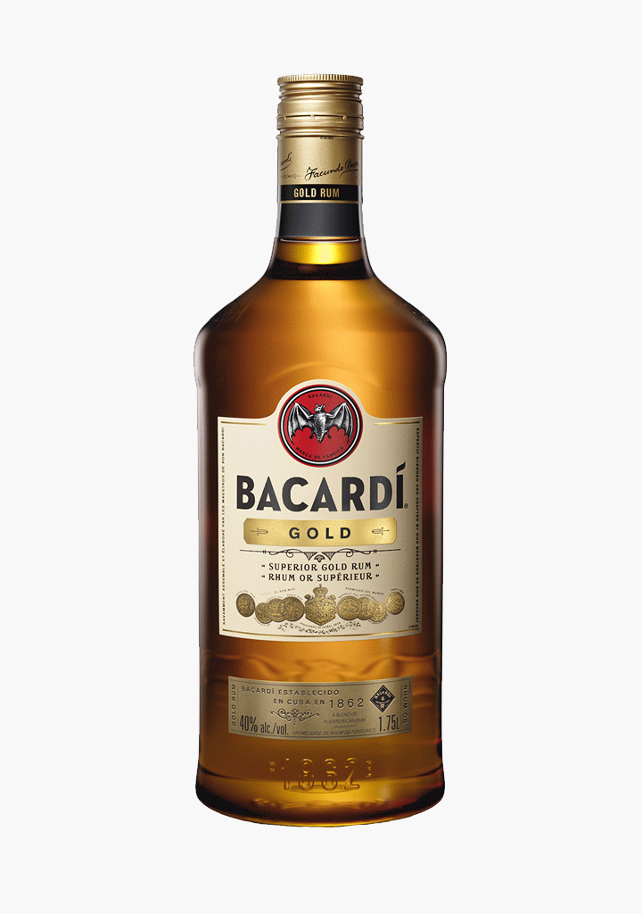 Bacardi Gold - 1750 ml-Spirits