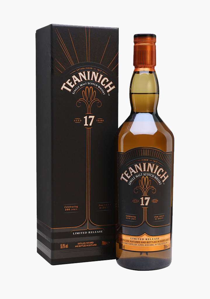 Teaninich 17 Year Old-Spirits