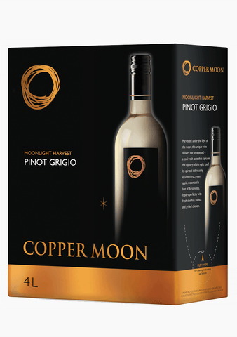 Copper Moon Pinot Grigio - 4000ML-Wine